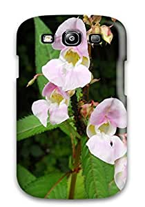 Galaxy S3 Case Bumper Tpu Skin Cover For Flower Accessories by icecream design