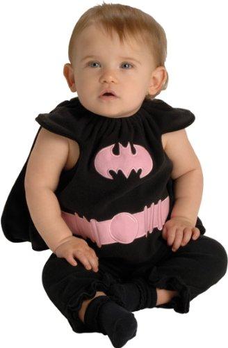 DC Comics Deluxe Pink and Black Batgirl Bib