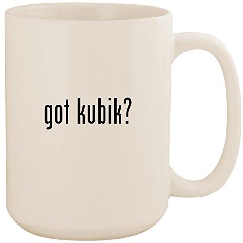 - got kubik? - White 15oz Ceramic Coffee Mug Cup