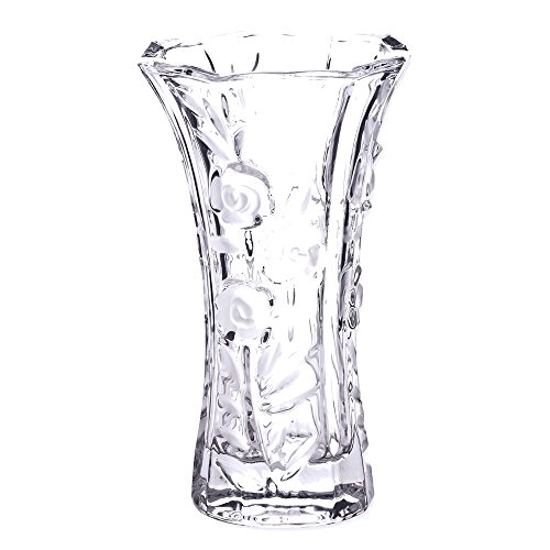 JE Large Crystal Bud Vase ()