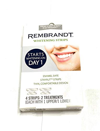 Whitening Strips Rembrandt 4 strips 2 treatments