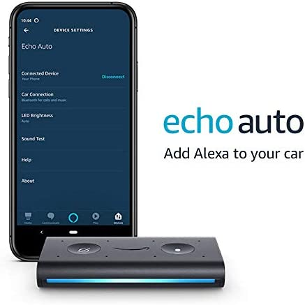 Certified Refurbished Echo Auto- Hands-free Alexa to your automobile along with your telephone