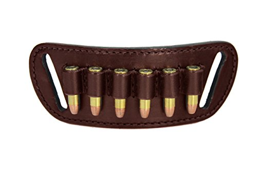 Daltech Force Cartridge Loop Holder Belt Slide Holster - Made in USA (Rich Brown.38/.357 Caliber)