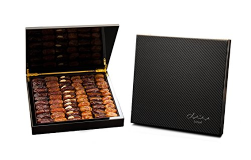 Carbon Fiber Gift Box with Gourmet Stuffed Dates (70 Pieces) by Bateel USA (Image #3)