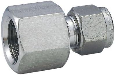 ハイロック社 ハイロック チューブ継手 メスコネクタ チューブ外径(インチ)3/8 ネジRc(PT)3/8 CFC6-6R