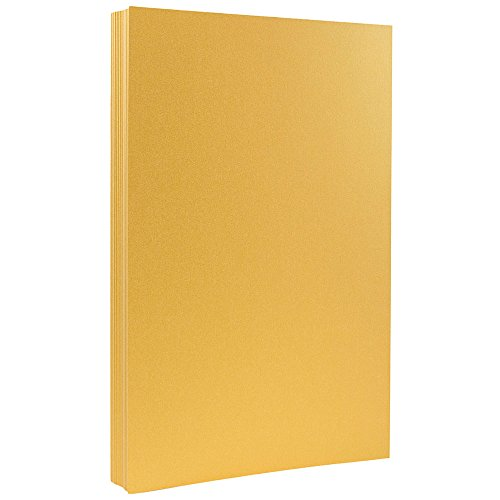 llic 32lb Paper - 8.5 x 14 - Gold Stardream Metallic - 25 Sheets/Pack ()