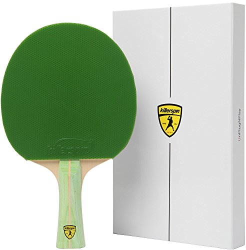 Killerspin JET200 Lime Table Tennis Racket Combo by Killerspin (Image #5)
