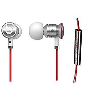 Genuine Authentic Monster Beats Ear Buds URBeats By Dre White/Red Heaphones earbuds earphones