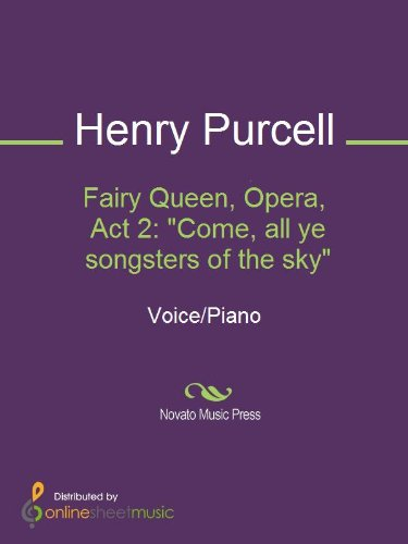 Fairy Queen, Opera, Act 2: