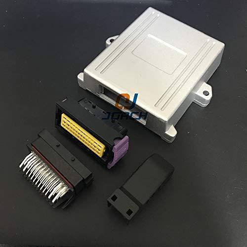 Gimax 1set 39pin ECU modified aluminum shell enclosure car controller control box with 39p generator control panel - Generator Enclosure Aluminum