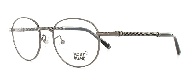 63689d04ec MONT BLANC MB 392 012 Gunmetal Round Eyeglasses Frames Size 51 ...