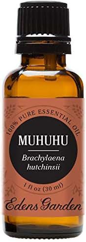 Edens Garden Muhuhu Essential Oil, 100% Pure Therapeutic Grade Aromatherapy Oils- Skin Care & Sleep, 30 ml