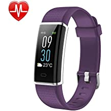 KARSEEN Fitness Tracker, Activity Tracker Fitness Watch Heart Rate Monitor Colorful OLED Screen Smart Watch With Sleep Monitor, Step Counter, IP68 Waterproof Pedometer for Android&iOS Phone
