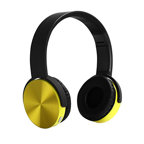 YHhao Wired/Wireless On-Ear Headphones, Noise Canceling Headsets, Foldable Headsets with Volume Control, Built-in Mic for PC, Computer, Laptop, iPhone, Android Smartphone, etc – DeepYellow