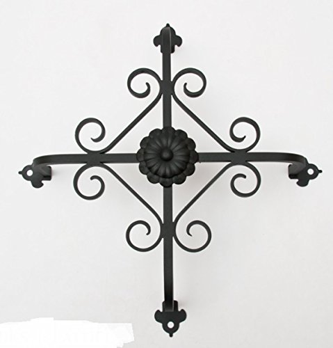 Exterior Decorative Iron Speakeasy Grill | Scroll (Decorative Scroll Screen)