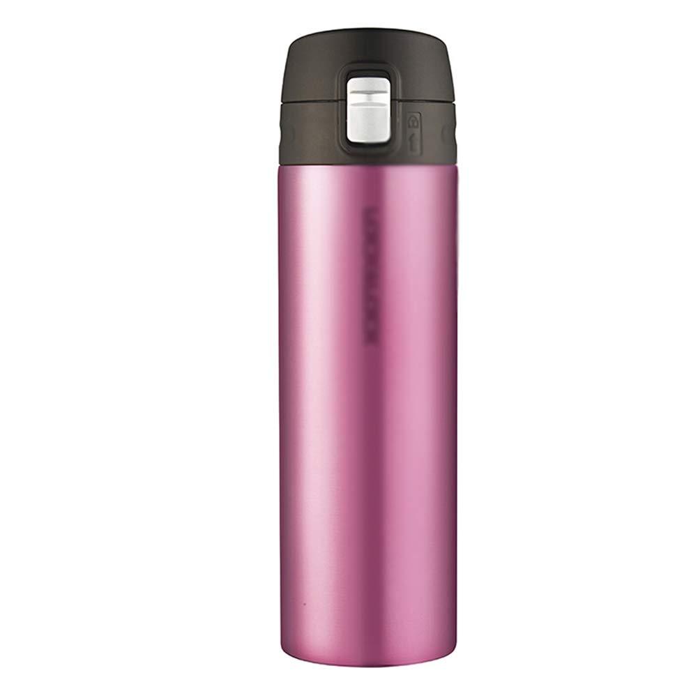 Sportflasche Isolier Becher Thermo Becher Travel Mug Kaffeebecher Wasserflasche Trinkbehälter Trinkflaschen- Aufprallender Becher Der Personalisierten Mode FENPING