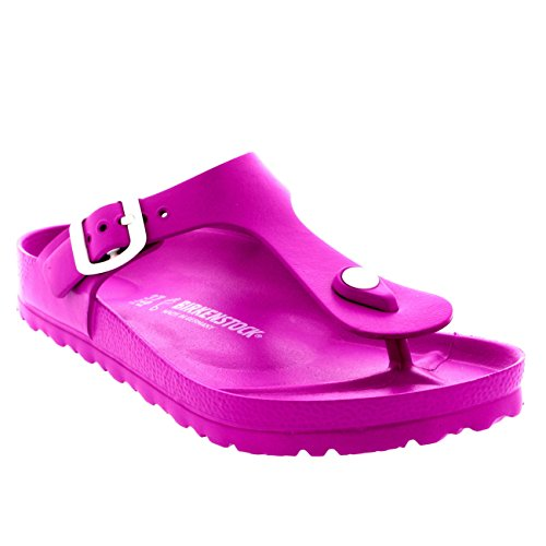 Birkenstock Womens Gizeh EVA Sandals Pink Size 38 M EU