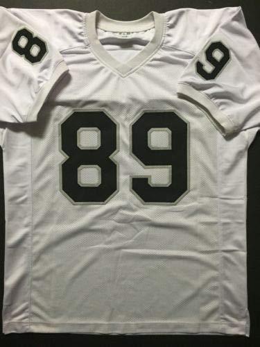 Autographed/Signed Amari Cooper Oakland White Football Jersey JSA COA