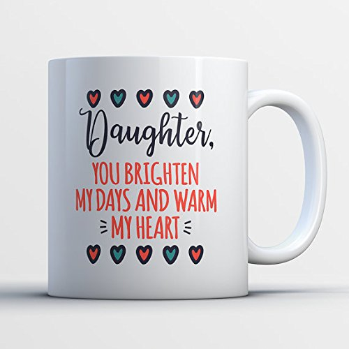 Tinkerer Costume (Daughter Coffee Mug - Cute Daughter Mug - Adorable Gift for Daughter - Teenage Girl Daughter Gifts - You Brighten My Days and Warm My Heart)