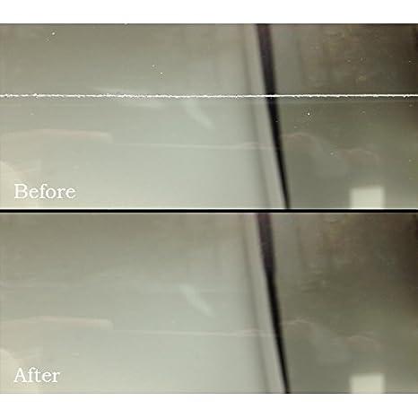 Glass Polish - Kit DIY para reparación de arañazos en Cristal. Sistema GP-Wiz. Elimina arañazos, Rozaduras, daños por Papel de Lija, componentes 50 mm: ...