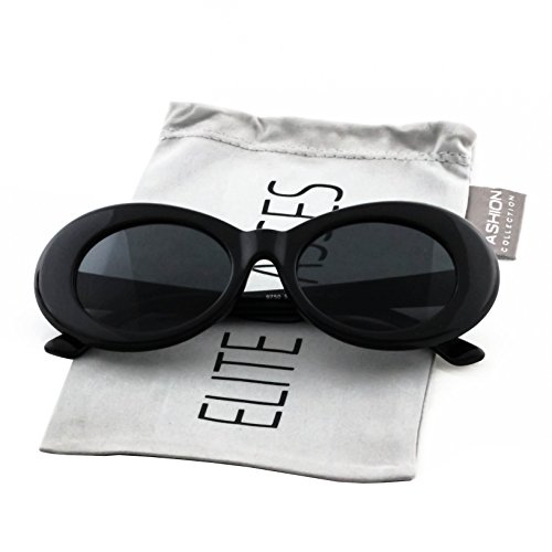 Clout Goggles Oval Hypebeast Eyewear Supreme Glasses Cool - Glasses Cool Black