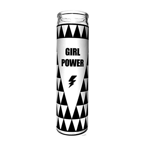 "Women Who DGAF Girl Power Candle - 7.5"" Tall, 80 hour burn time - Friendship gifts for women - Cute Candle for Feminists, Daughters, Girl Boss, Coworkers and Besties"