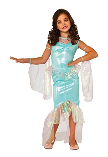 Rubie's Costume Mermaid Deluxe Child Costume, Small (Seahorse Costume Amazon)