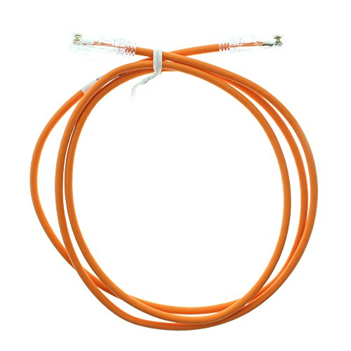 Panduit UTP28SP4BO/N CAT6 Performance Patch-Cable UTP Patch Cord, 4-Feet, Bright Orange (5 Pack) - Panduit Cat6 Cable