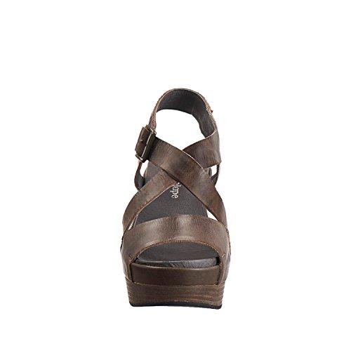 Grey 883 Womens Antelope Antelope Leather Sandals Womens Dye Cross 8t1ZwEq6q