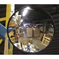 "Vision Metalizers IC1200 Indoor Acrylic Convex Mirror, 12"" L, 12"" H from Vision Metalizers Inc"