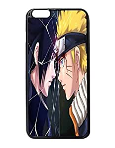 """Naruto vs Sasuke Batalha Final Naruto shippuuden Custom Image Case iphone 6 -5.5 inches case , Diy Durable Hard Case Cover for iPhone 6 Plus (5.5"""") , High Quality Plastic Case By Argelis-Sky, Black Case New"""