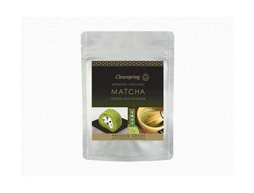 (10 PACK) - Clearspring Matcha Green Tea Powder (Premium Grade)| 40 g |10 PACK - SUPER SAVER - SAVE MONEY