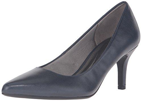 LifeStride Women's Sevyn Dress Pump, Luxe Navy 4,6.5 M