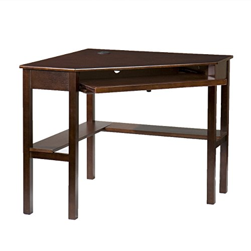 "037732066448 - Southern Enterprises Corner Computer Desk 48"" Wide, Espresso Finish carousel main 6"