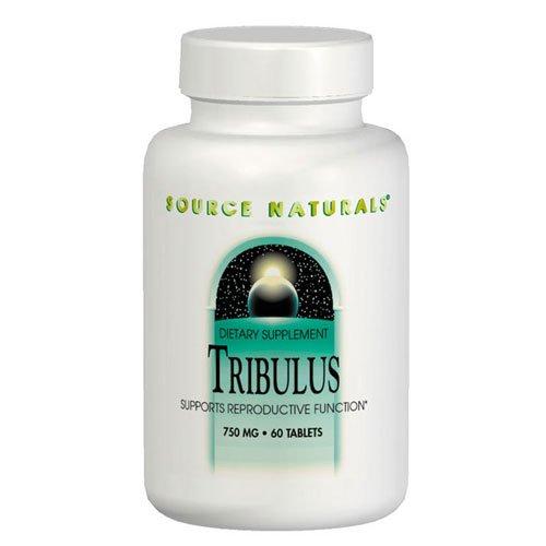 Источник Naturals - Tribulus экстракт 750 мг. - 60 таблеток