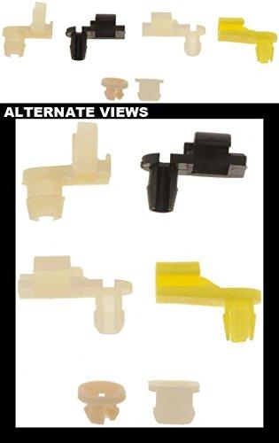 APDTY 86561 Door Lock Rod Retainer Clip Assortment 6 Pack Fits Select 1971-04 GM ()