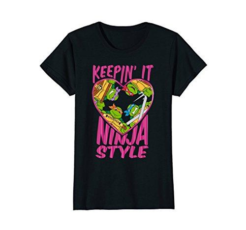 Teenage Mutant Ninja Turtles Keepin' It Ninja Style T-Shirt ()