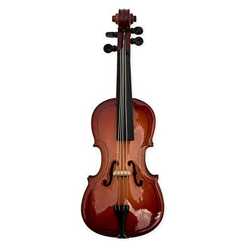 Cello Miniature Replica Magnet, Size 4 inch ()