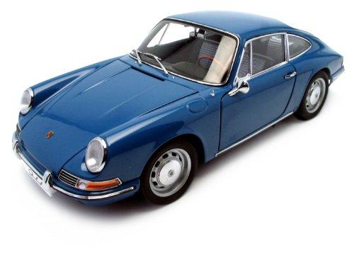 1964 Porsche 911 Coupe Blue 1:18 AutoArt Diecast Model 18 Autoart Diecast Model