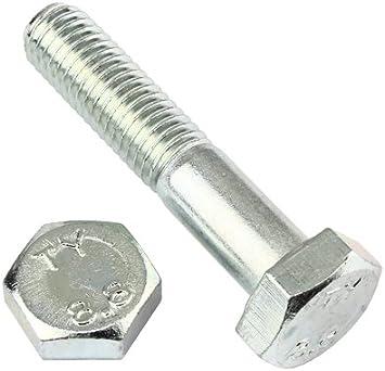 2 Stk Sechskantschraube DIN 933 8.8 M10 x 240