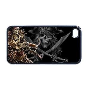 Amazon.com: Pirates skull and crossbones Apple iPhone 5 PLASTIC cell