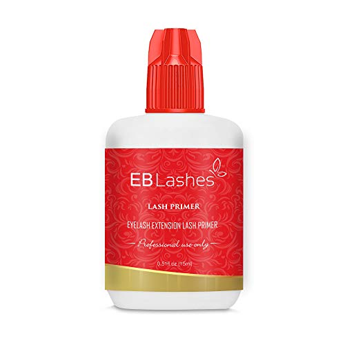 Existing Beauty Eyelash Extension Primer and Adhesive Pre-treatment For Lash Extension Glue Removes Proteins and Oil For Longer Lasting Eyelash Extensions and Stronger Retention 15 ml