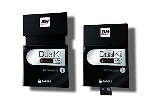 BH Fitness - Cinta De Correr F1 Dual + Dual Kit T: Amazon.es ...