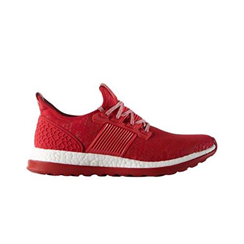 Adidas Prestaties Heren Pureboost Zg Hardloopschoen Scarlet-scarlet-wit