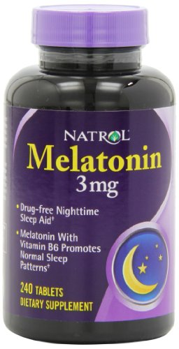Natrol Melatonin Tablets Count Pack