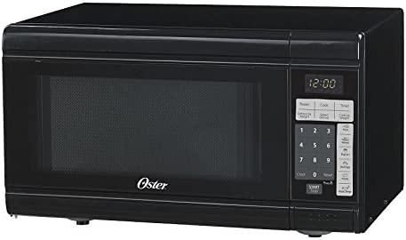 OSTER OGT3902, Black 0.9 Cube Microwave Oven