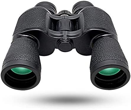 20 50 High Power Binoculars for Adults,Low Light Night Vision Waterproof HD Binoculars,Using BAK-4 Prism FMC Lens 22mm Large Eyepiece,for Bird Watching Travel Hunting Etc