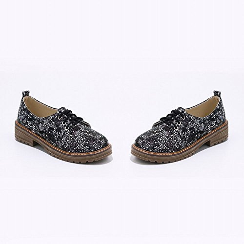Women's Black Lace Shoes Latasa up Oxford Color Printed Main dqpxd6Ozw
