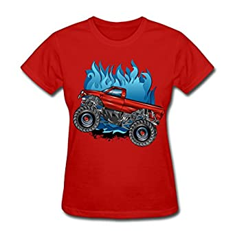 Lovets custom printed women 39 s red flaming for Books printed on t shirts