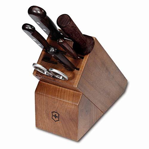 (Victorinox Swiss Army Victorinox Rosewood 7-Piece Block Set 49407US3)